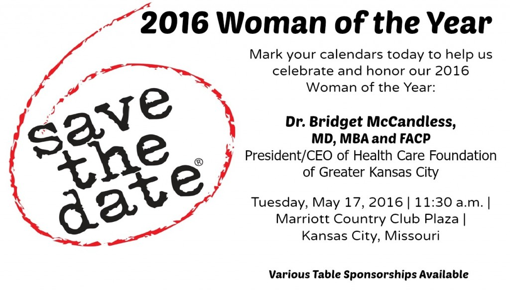 save the date - gmlf woman of the year